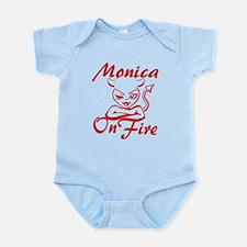 Monica On Fire Infant Bodysuit