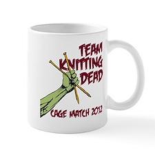 Team Knitting Dead Cage Match Mug