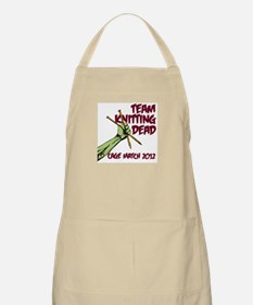 Team Knitting Dead Cage Match Apron