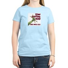 Team Knitting Dead Cage Match T-Shirt