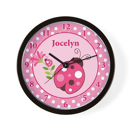Jocelyn Ladybug Wall Clock