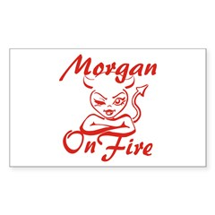 Morgan On Fire Decal