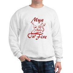 Mya On Fire Sweatshirt