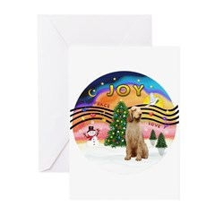 XMusic2-Spinone (w) Greeting Cards (Pk of 10)