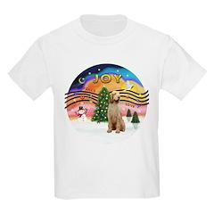 XMusic2-Spinone (w) Kids Light T-Shirt