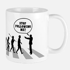 Stop Following Me! Mug