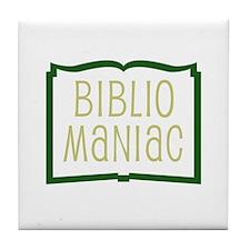 Biblio Tile Coaster