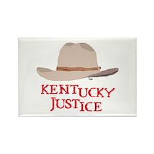 Kentucky Justice Rectangle Magnet
