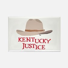 Kentucky Justice Rectangle Magnet