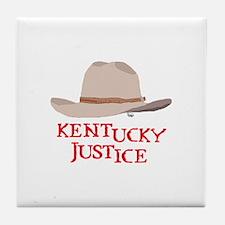 Kentucky Justice Tile Coaster