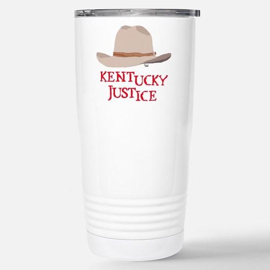 Kentucky Justice Stainless Steel Travel Mug