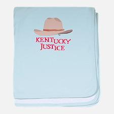 Kentucky Justice baby blanket