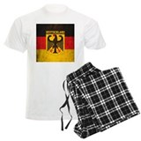 Germany flag Men's Light Pajamas