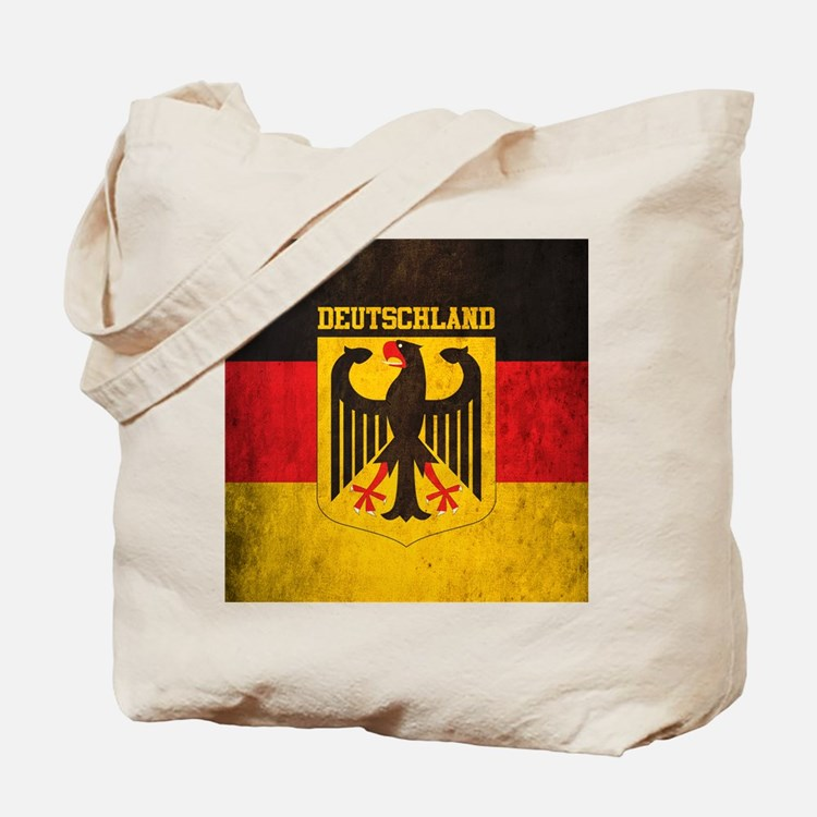 Grunge Germany Flag Tote Bag