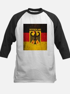Grunge Germany Flag Tee