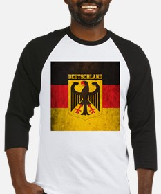Grunge Germany Flag Baseball Jersey