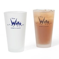 WIFE Lucky 13 Drinking Glass