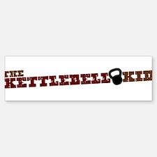 The Kettlebell Kid Bumper Bumper Sticker