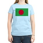 Bangladesh Flag Women's Pink T-Shirt