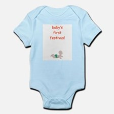 festivus infant creeper