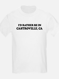 Rather: CASTROVILLE Kids T-Shirt
