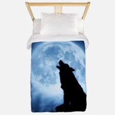 Cries of the Night Wolf Blanket/Cover Twin Duvet