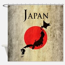 Map Of Japan Shower Curtain