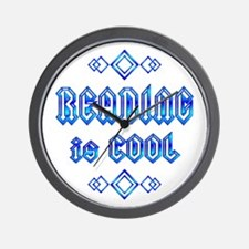 Reading is Cool Wall Clock