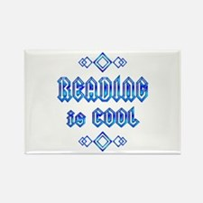Reading is Cool Rectangle Magnet