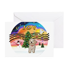 XMusic2-Havanese Pup Greeting Cards (Pk of 20)