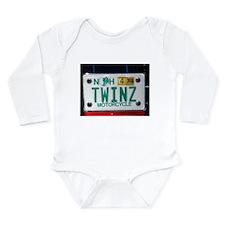 TWINZ™ Long Sleeve Infant Bodysuit
