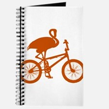 Orange Flamingo on Bicycle Journal