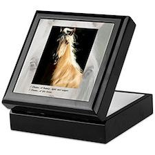 Golden Dream Horse Keepsake Box
