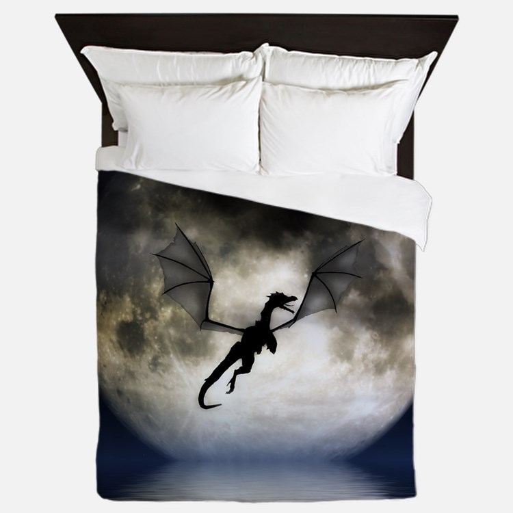 Dragon Moon Queen Duvet/Blanket