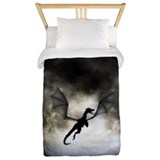 Dragon moon Duvet Covers