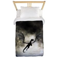 Dragon Moon Twin Duvet / Blanket