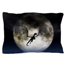 Dragon Moon Pillow Case