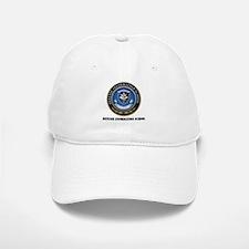 Defense Information School with Text Baseball Baseball Cap