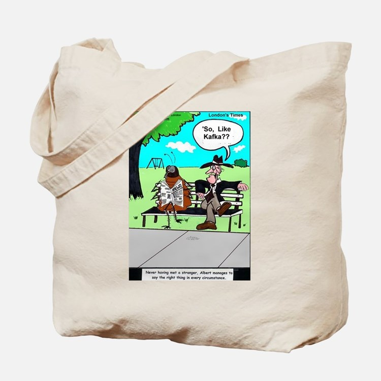Kafka The Roach Tote Bag