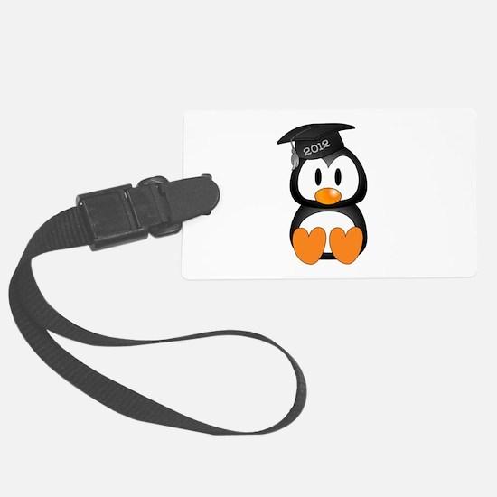 Custom Gradution Penguin Luggage Tag