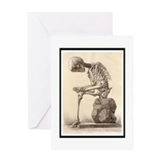 Vintage Anatomy Greeting Card