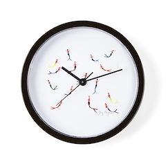 Swimming Mermaids Wall Clock