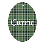 Tartan - Currie Ornament (Oval)
