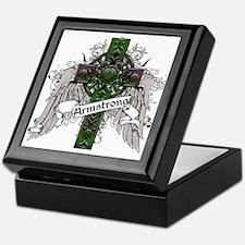 Armstrong Tartan Cross Keepsake Box