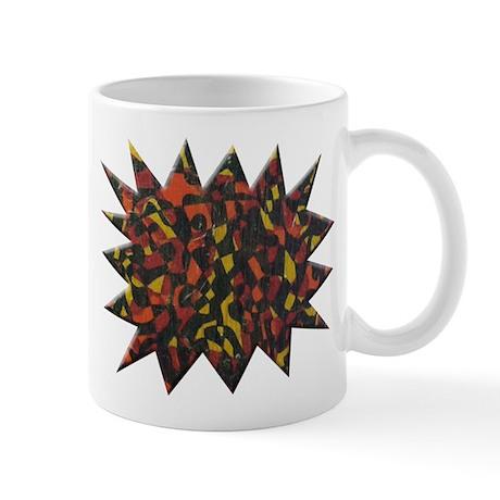 Fire Abstract Mug