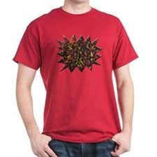 Fire Abstract Men's T-Shirt