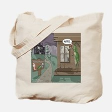 The Fishing Bates Motel Tote Bag