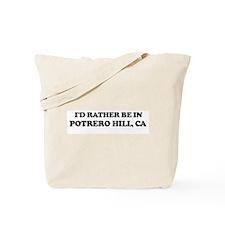 Rather: POTRERO HILL Tote Bag