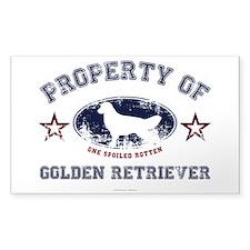 Golden Retriever Decal
