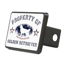 Golden Retriever Hitch Cover